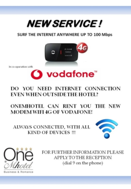 WI-FI MOBILE 4G - New Wi Fi Mobile Service for our Business Customer